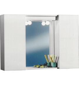 Sipafer s p a specchio a mobiletto per bagno art 354 - Mobiletto con specchio per bagno ...