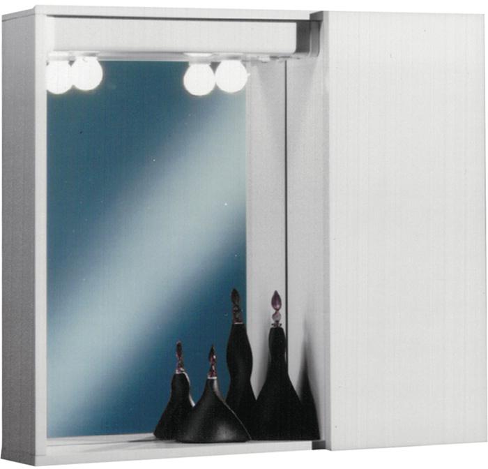 Sipafer s p a specchio a mobiletto per bagno art 353 dsr con 1 anta liscia a destra cod - Mobiletto con specchio per bagno ...