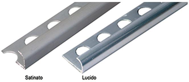 Sipafer s p a profilo proteggi angolo jolly arrotondato in alluminio per piastrelle cod 716903 - Angolari per piastrelle ...