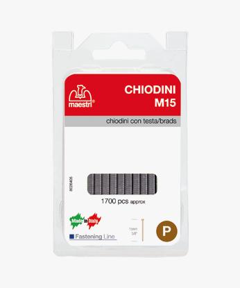 CHIODINI CON TESTA MAESTRI®  M15