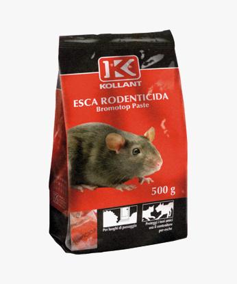 ESCA RODENTICIDA BROMOTOP PASTE