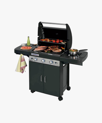 BARBECUE A GAS METANO E GPL 3 SERIES CLASSIC LS PLUS DARK DG