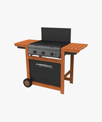 BARBECUE A GAS METANO E GPL ADELAIDE��� 3 WOODY DG