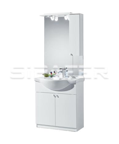 Consolle Bagno In Ceramica.Sipafer S P A Mobile Per Bagno Art 94 74 Fc Con 2 Ante Specchio