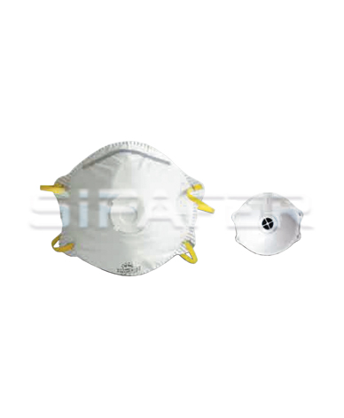 mascherine antipolvere a conchiglia