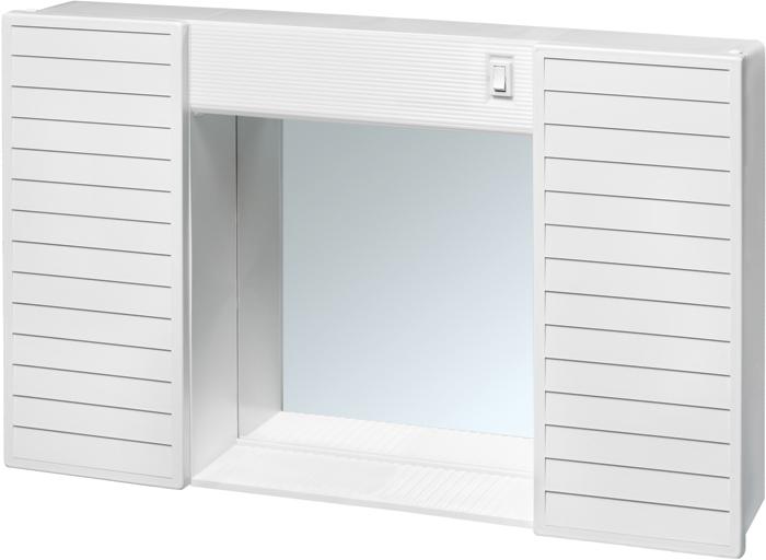 Sipafer s p a specchio a mobiletto per bagno simpaty con 2 ante liscie cod 177235 - Specchio per bagno con luce ...